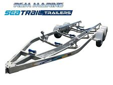 Seatrail 6.4m 2800kg Rated Skid Boat Trailer ALKO Brakes (7.10M Overall Length)