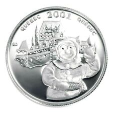Canada 2001 Quebec Carnival Silver Proof Fifty Cent Piece!!