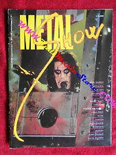 rivista METAL SHOW 12 Alice Cooper Metallica Bon Jovi Def Leppard AC/DC No cd
