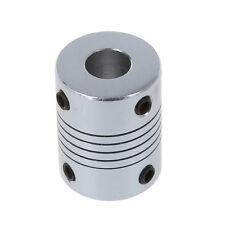 Acoplador de acoplamiento de eje flexible de motor paso a paso 6.35x8mm. D3U4