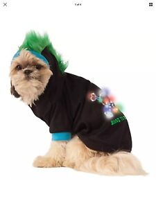 Bone To Be Wild Hoodie Light-Up Pet Costume by Rubies - Size XXL - New