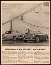 1954 AUSTIN HEALEY Convertble & Hardtop Automobile Cars - Original VINTAGE AD