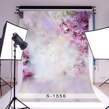 Clouded Flowers Newborn Baby Photography Backdrops 4x6ft Vinyl Photo Background