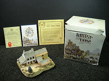 Lilliput Lane Yew Tree Farm Collectors Club Exclusive NIB With Deeds & COA #512