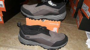 NEW $110 Mens Merrell Icepack Moc Polar Waterproof Shoes, sz 10