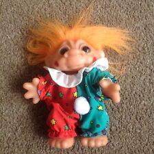 Troll in abiti Clown con Capelli Arancioni o DAM 1984