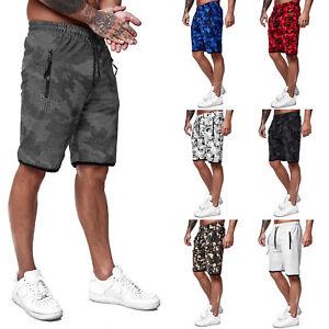 Herren Shorts kurze Hose Streetwear Sweatshorts Sporthose Fitness Modell 3622
