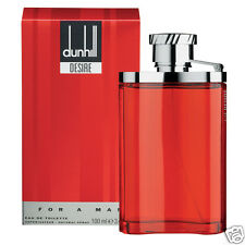 DUNHILL DESIRE RED LONDON MAN EDT HOMME 100ml VAPORISATEUR NEUF BLISTER