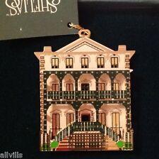 John Rutledge House Inn Signed Charleston Sc Or012 Ornament Shelia'S Historical
