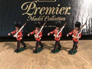 Britains Premier: Boxed Set 9901 Coldstream Guardsmen. 54mm Metal Models