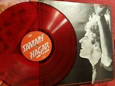 Sammy Hagar - Live - Lound & Clear LP/33rpm Capital [E-ST 25330] 1978 Red Vinyl
