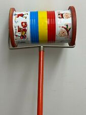 """Vintage Fisher~Price 1955 - 1962 """"Musical Chime� 722 Musical Push Toy W/Knob"""