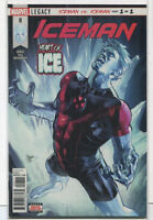 Iceman #8 NM Legacy Iceman Vs Iceman Part 1 of 1  Marvel Comics CBX2C