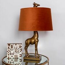 Antique Gold Giraffe Table Lamp Resin Contemporary Hallway Living  Bedroom