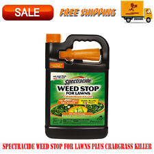 Spectracide Weed Stop For Lawns Plus Crabgrass Killer, 1 Gallon, Guaranteed
