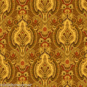Dolls House Wallpaper 1/12th 1/24th scale Brown Quality Paper #315