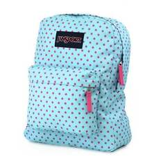 JANSPORT Superbreak Backpack  - Blue Topaz Lipstick Kiss School bag JS00T5013B4
