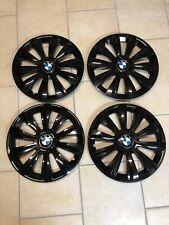 BMW 16 Zoll Radkappen Radblenden, schwarz Glanz für E36 E46 E81 E87 E90 E92 F30