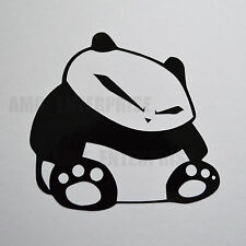 Black Panda Decal Sticker Vinyl for Fiat 500 500L Abarth Panda Bravo Croma Doblo