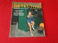 Vintage Official Detective Stories Magazine November 1963                     UU