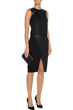 NWT | Alexander Wang | Sleeveless Leather-Trimmed Mesh Top | Size 2 | $615