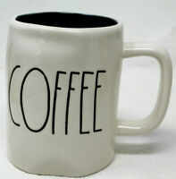 Rae Dunn COFFEE Artisan Collection By Magenta Large Letter Coffee Mug Cup #S-3