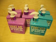 8x Victoria's Secret Pink MAKE ME FOREVER PINK Vanilla Orchid Body Lotion LOT x8