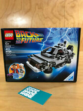 LEGO BACK TO THE FUTURE CUUS #004 MARTY McFLY DOC BROWN DMC DELOREAN 21103 NISB