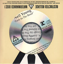 NEIL YOUNG Fork In The Road UK watermarked promo test CD sealed