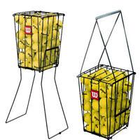 Wilson 75 Tennis Ball Pick Up Hopper Durable Portable tennis ball basket new