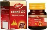 2 * Dabur Camne Vid - earlier it was Kamini Vidravan Ras 25 Tab Herbal