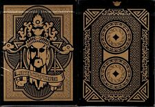 Angry God of Wealth Playing Cards Poker SizeDeck  USPCC Custom Limited Sealed
