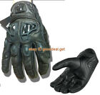 NEW Icon Justice Touch Screen Gloves motorbike leather GLOVES M/L/XL