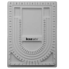 Bead Design Beading Board Gray Flock 9x13 Inches (1 Piece)