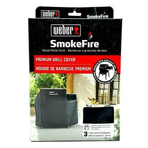 Weber Grill Cover 7190 SmokeFire Black For Smoke Fire EX 4 Pellet Smoker