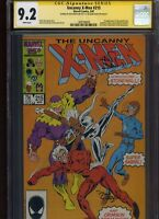 Uncanny X-Men #215 CGC 9.2 2x SS Alan Davis & Dan Green 1987