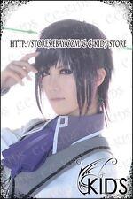 Puella Magi Madoka Magica Akemi Homura cosplay wig costume boy
