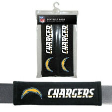 San Diego Chargers Seat Belt Pads 2 Pack [NEW] Car Seatbelt Shoulder NFL CDG