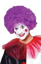 purple CLOWN WIG adult womens mens halloween costume