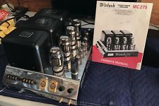 McIntosh MC275-II Gordon Gow Commemorative Edition Tube Amp