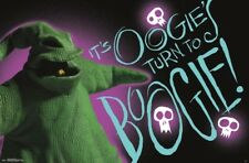 NIGHTMARE BEFORE CHRISTMAS - OOGIE BOOGIE POSTER - 22x34 - MOVIE NBC 15597