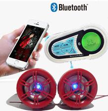 UTV ATV MOTORCYCLE waterproof marine speakers Bluetooth audio Amplifier Speaker