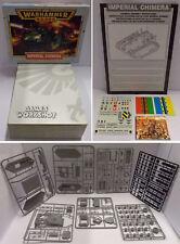 Vintage Gioco Game Warhammer 40.000 40k Astra Militarum - IMPERIAL GUARD CHIMERA
