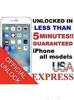Premium FACTORY UNLOCK SERVICE AT&T CODE ATT for IPhone 3 4 5 5S 6 6s SE 7 8u