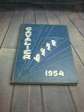 1954Yearbook Pulaski high school Milwaukee wi. Printed specially for miss cutnaw