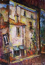 Odette BRURIAUX (1923-2003) HsP Nle Ecole de Paris Fauvisme Fauvist Années 60'