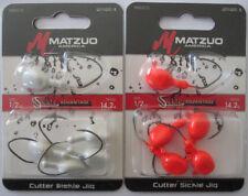 2 - Matzuo Cutter Sickle Jig - 5/Pk - 1/2 oz. - Two Great Colors!