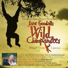 New: JANE GOODALL - Wild Chimpanzees (Soundtrack/Nature) CD