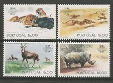 Portugal. 1983. Centenario De Lisboa Zoo Set. SG: 1944/47. como Nuevo Nunca con Bisagras.
