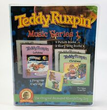 2006 Teddy Ruxpin Music Series 1 Story Song Books Cartridge Christmas Lullabies